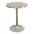 pöytä pyöreä metallinenV