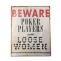 kyltti-bevare-poker-playersV